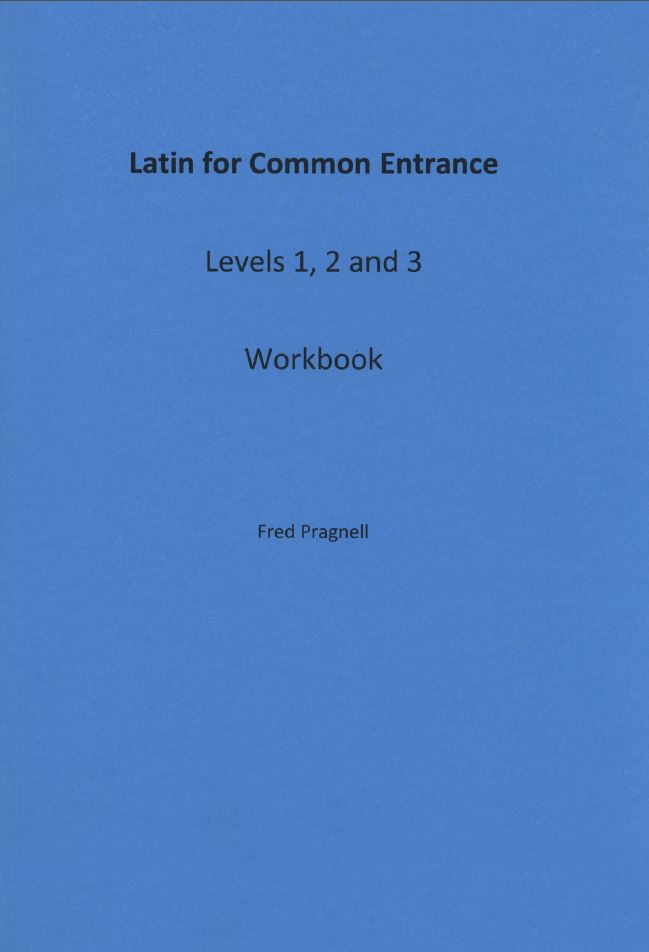 Latin for Common Entrance Level 1 2 and 3 workbook - Latin Course Books from Pragnell Books